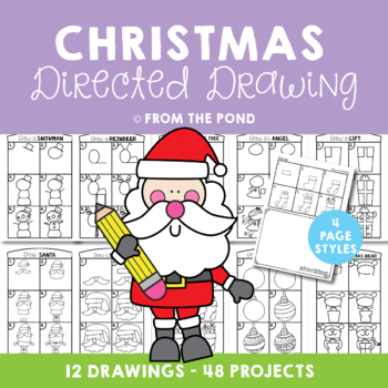 Christmas Directed Drawing