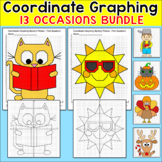 End of Year Activities: Coordinate Graphing Ordered Pairs Bundle