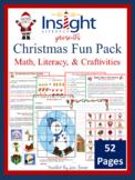 Christmas Fun Pack - Math, Literacy & Fun, K-3