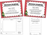 Christmas Graphing - Analyzing Data/Creating Bar Graphs (C