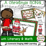 Christmas Song: Santa Claus -  Shared Reading Singable {CCSS}