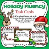 Christmas Holiday Fluency Task Cards