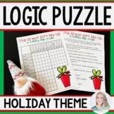 Christmas Holiday Logic Puzzle