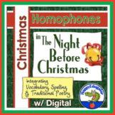 Christmas Homophones Handout - The Night Before Christmas
