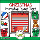 Christmas Interactive Math Pocket Chart