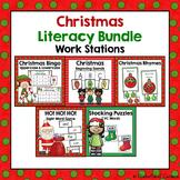 Christmas Literacy Centers {BUNDLE}