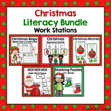 Christmas Literacy Centers {BUNDLE}