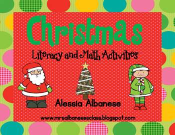 Christmas Literacy and Math Activities