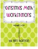 Christmas Math Workstations