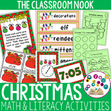 Christmas Math and Literacy Activities - Small Group and I