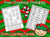 Christmas Math and Literacy Fun Freebie