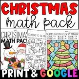 Christmas Math Morning Work/Homework: CCSS-Aligned to Grad