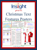 Christmas Nonfiction Text Features Teaching Posters
