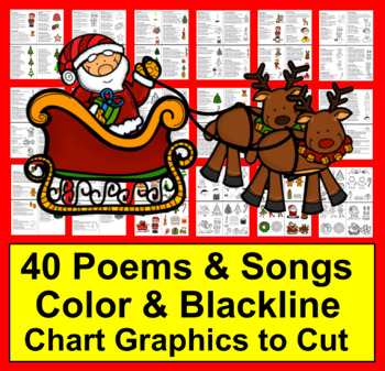 Christmas Poems, Songs and Finger Plays for Shared Reading and Fluency