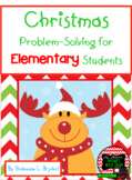 Christmas Problem-Solving for Elementary Students