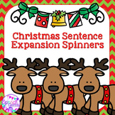 Christmas Sentence Expansion Spinners