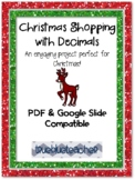 Christmas Shopping - Operations with Decimals
