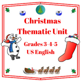 Christmas Thematic Unit (Intermediate) for Very Busy Teachers