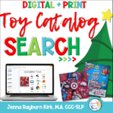 Christmas Toy Catalog Companion for Speech & Language