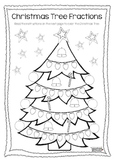Christmas Tree Fractions FREEBIE