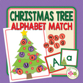 Christmas Tree ABC:  Holiday Alphabet Match