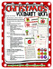 Christmas Vocabulary Word Work - PreK to 2nd Grade Printables!