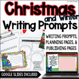 Christmas Winter Common Core Writing: Opinion, Informative