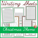 Christmas Writing Sheets