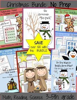 Christmas and Winter BUNDLE  **Save $8**