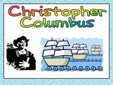Christopher Columbus Day- Shared Reading PowerPoint Kinder