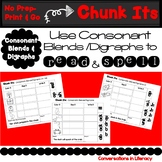 Chunk Its Consonant Blends & Digraphs Making Words with Ch