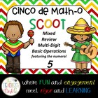 Cinco de Math-o SCOOT Multi-Digit Operations Featuring the