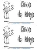 Cinco de Mayo Emergent Reader for Kindergarten