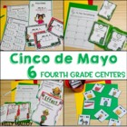 Cinco de Mayo Math and Literacy Centers for Upper Elementary