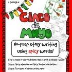Cinco de Mayo FREE No Prep Narrative Writing