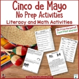 Cinco de Mayo No Prep Printables