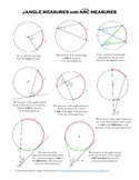 Circle Properties Study Guide: Angles, Arcs, and Segments