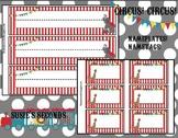 Circus Theme Nameplates & Nametags