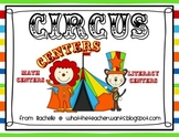 Circus Themed Centers {Math and Literacy}