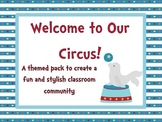 Circus or Carnival Classroom Theme Pack