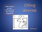 Citing Sources PowerPoint Lesson