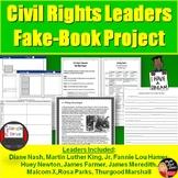 Civil Rights Advocates Fake-Book Project (U.S History)