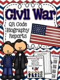 Civil War Historical Figures Biography Reseach Reports wit