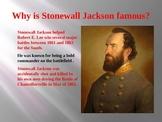Civil War: The Death of Stonewall Jackson PowerPoint Presentation
