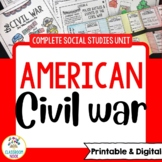 Civil War and Reconstruction {Complete Social Studies Unit