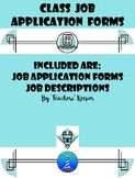 Classroom Job Applications