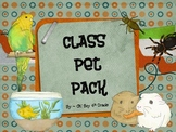 Class Pet Pack...putting problem solving and writing together