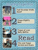 "Class Poster for Public Speaking Skills - ""Sharing Page Pros"""