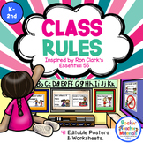 Class Rules - Posters - Activities Inspired by Ron Clark's