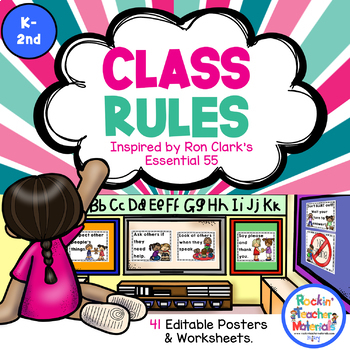 Class Rules and Activities Inspired by Ron Clark's Essential 55 Book